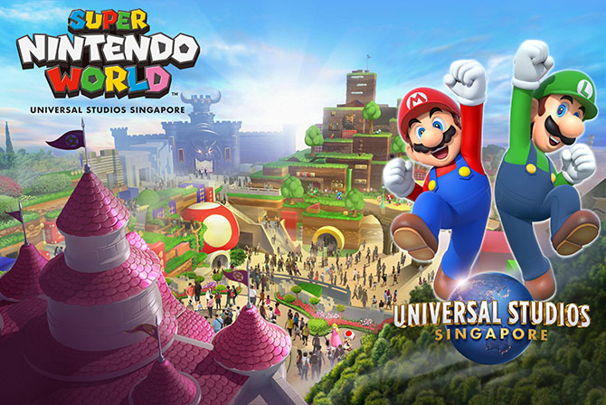 e RWS 2.0 Concept Rendering of Super Nintendo World at Universal Studios Singapore