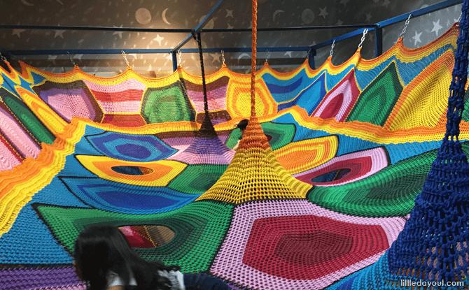 Rainbow Net, Kidzland at The Grandstand