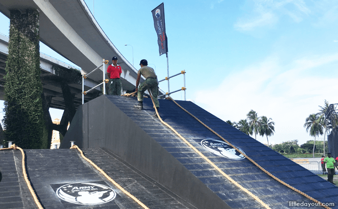 Ramp at Soldier Strong