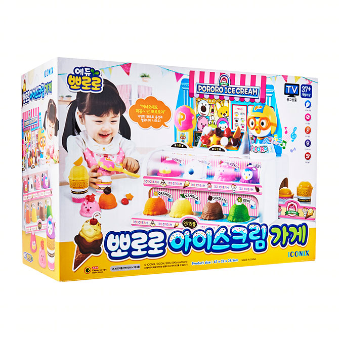 Korea – ICONIX Pororo Ice Cream Store
