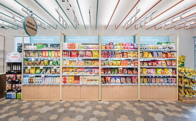 Retail Zone at Food Folks