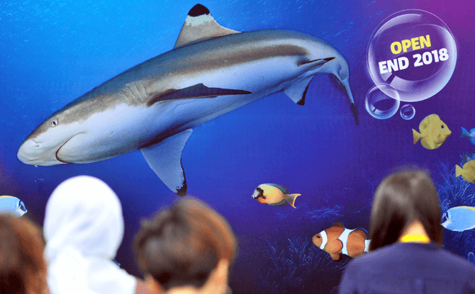 SEA LIFE Malaysia is set to open in Q4 2018 at LEGOLAND Malaysia Resort