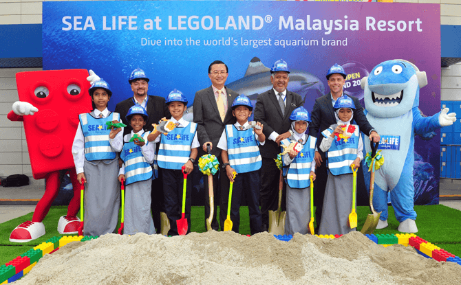 SEA LIFE Official Announcement Ceremony to announce the arrival of SEA LIFE Malaysia