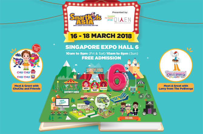 SmartKids Asia 2018, 16 to 18 March 2018