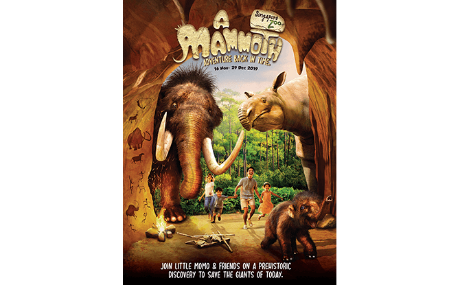 A Mammoth Adventure Back In Time at Singapore Zoo