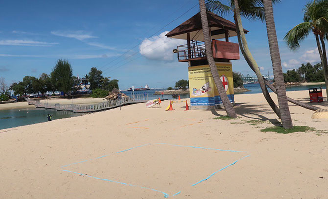 Sentosa Beach Reservation: Make A Booking For Peak Times From 17 October 2020