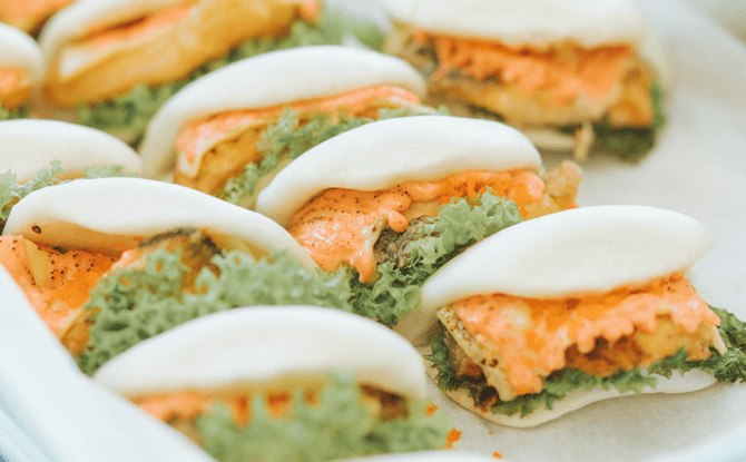 e Salmon Mentaiko Bao by The Bao Makers