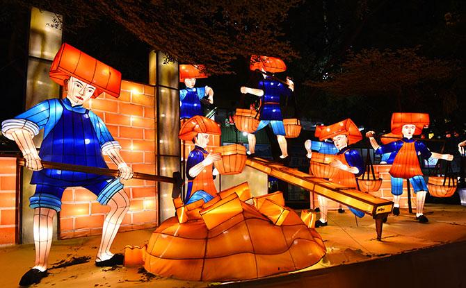 Samsui Women lanterns