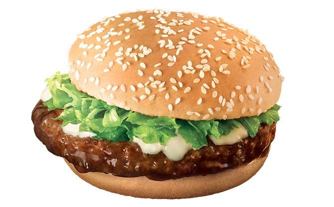 McDonald's Samurai Beef Burger