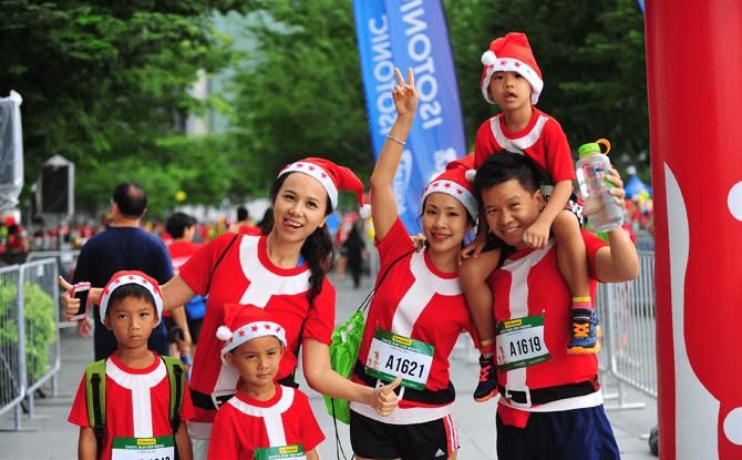 Santa Run for Wishes 2017