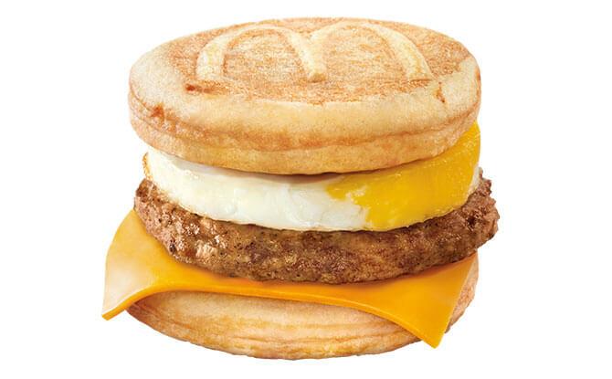 Sausage McGriddles with Egg - McGriddles 2020