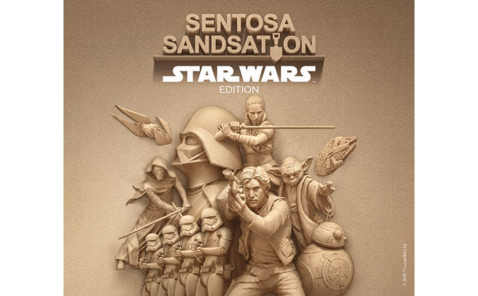 Sentosa Sandsation 2019: Star Wars Edition