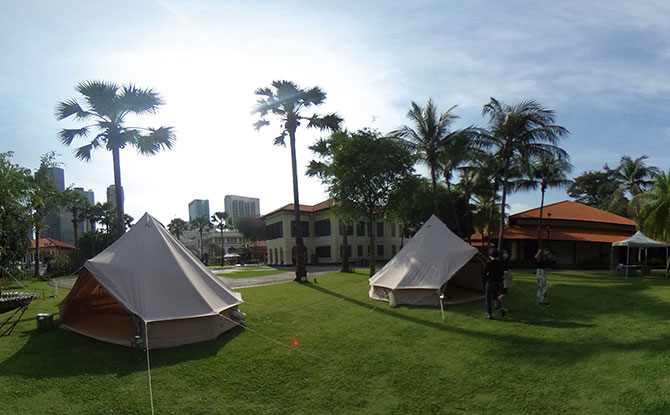 Glamping At Malay Heritage Centre