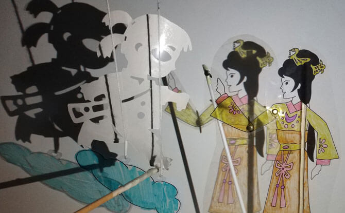 Shadow Puppet Workshop by Paper Monkey Theatre