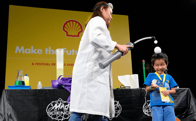 Shell Make the Future Singapore - Things To Do During the March School Holidays 2018 in Singapore for Kids
