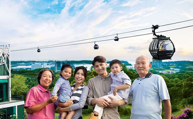 Free Weekday Cable Car Rides For Local Seniors & 50% Off For Local Children From 14 Mar to 30 Jun