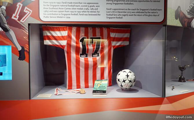 Singapore Sports Museum - Fandi's Jersey