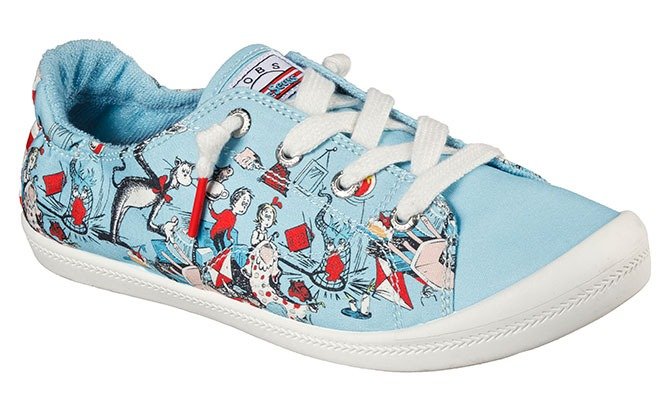 The Cat in the Hat on a Shoe