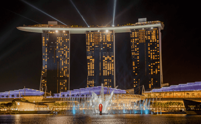 Spectra, Marina Bay Sands Light and Water Show