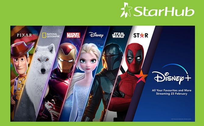StarHub to offer Disney+ to Customers