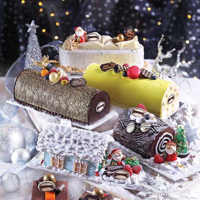Swensen's Ice Cream Log Cakes 2018