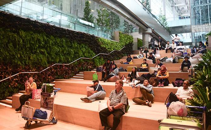 New space at Changi Airport T3 Basement 2