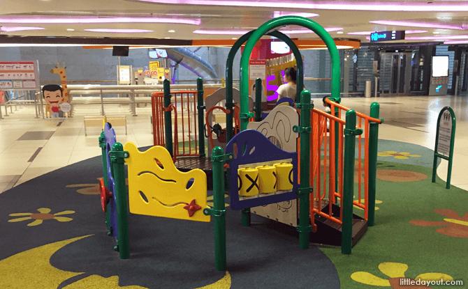 Changi Airport Children's Playground at Terminal 3, B2