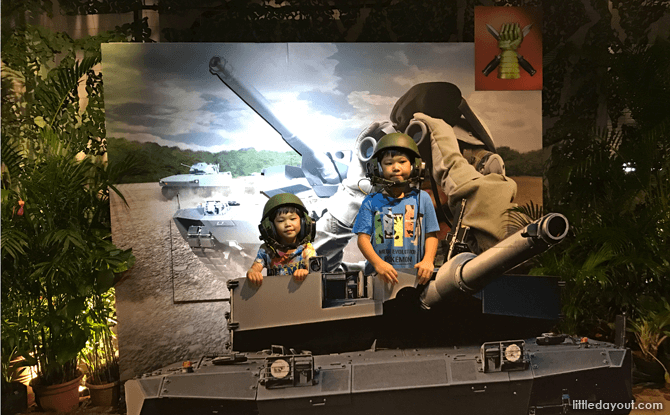 Command a tank!
