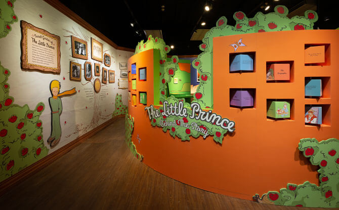 The Little Prince: Behind the Story At Singapore Philatelic Museum