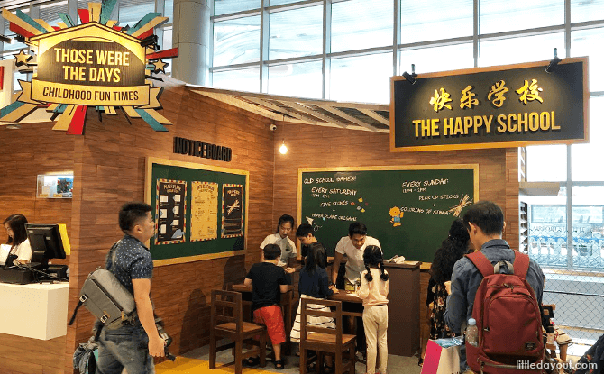 Those Were The Days - Childhood Fun Times, Changi Airport T4