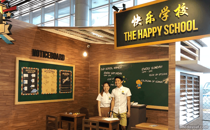 The Happy School, Changi Airport T4, March School Holidays 2018