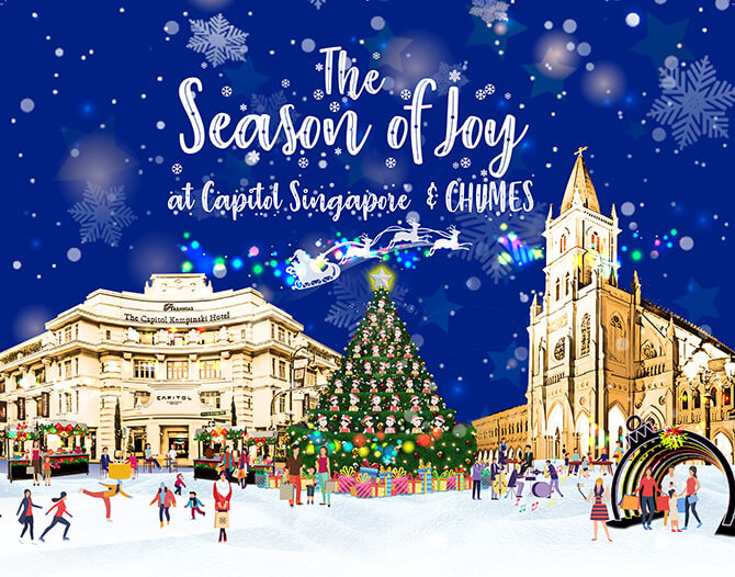 Capitol Kempinski Singing Tree - Christmas carolling in Singapore 2019