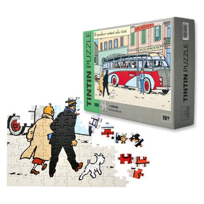 Belgium – Tintin calculus jigsaw puzzle