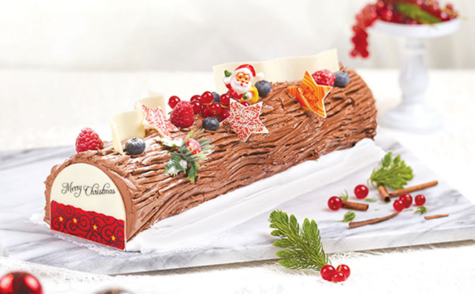 Christmas Yule Log Cake.Log Cakes In Singapore 2018 Where To Buy Yule Logs For Your