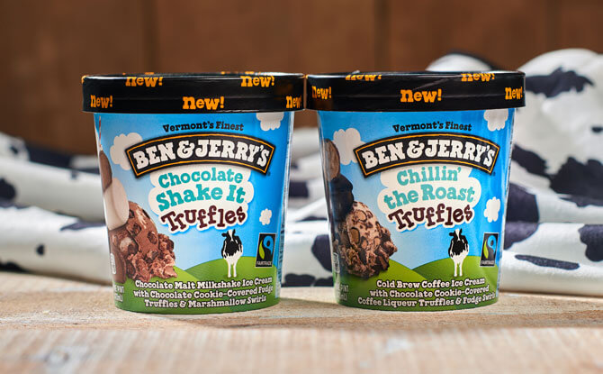 Ben & Jerry's Chocolate Truffle Ice Cream