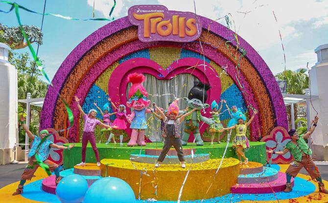 DreamWorks TrollsTopia Show