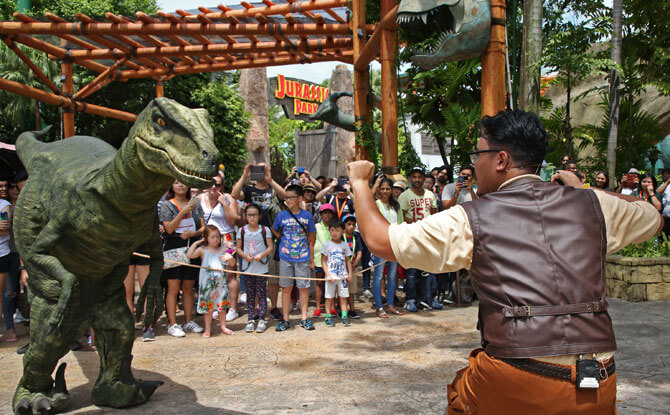 Jurassic World: Explore & Roar, Universal Studios Singapore at Resorts World Sentosa