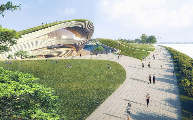 Founders' Memorial International Architectural Design Competition Winner