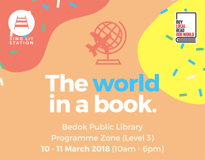 The World In A Book - Part of #BuySingLit 2018