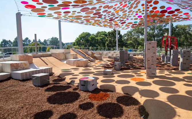 Wellington Square Playground, Perth