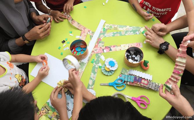 Activities at Singapore Botanic Gardens (SBG) Children's Garden