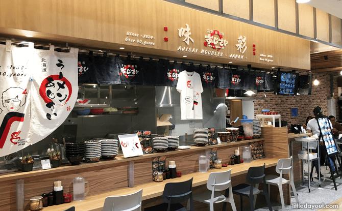 Ajisai Noodle Japan, Hokkaido Marche, Orchard Central, Singapore