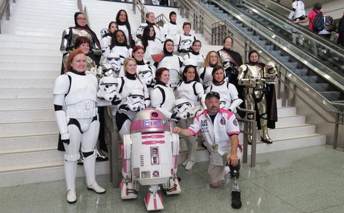 Meet Albin Johnson and R2-KT