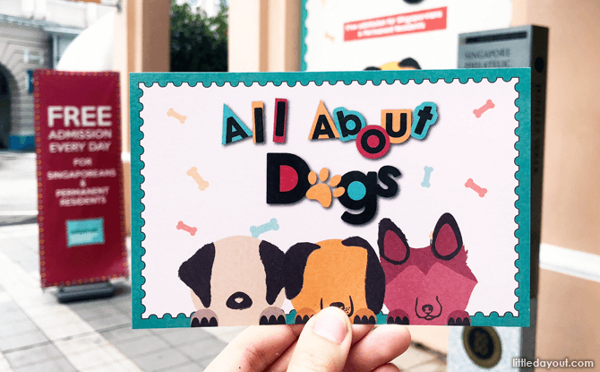 All About Dogs, Singapore Philatelic Museum Exhibition