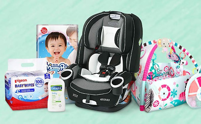 Amazon Singapore Baby Fair: Special Deals Online From 13 To 26 August
