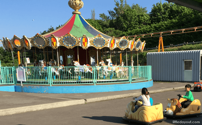 Amusement Park, Otaru Aquarium, Hokkaido, Japan