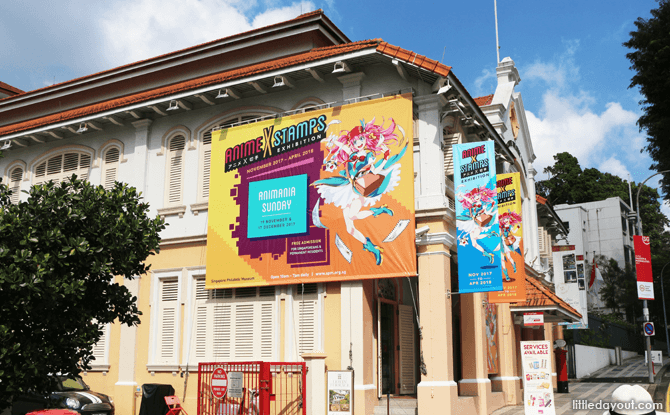 Anime X Stamps Exhibition, Singapore Philatelic Museum