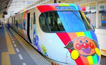 Cute trains in Japan