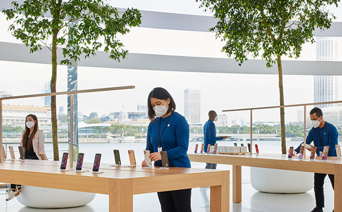 Apple Store at Marina Bay