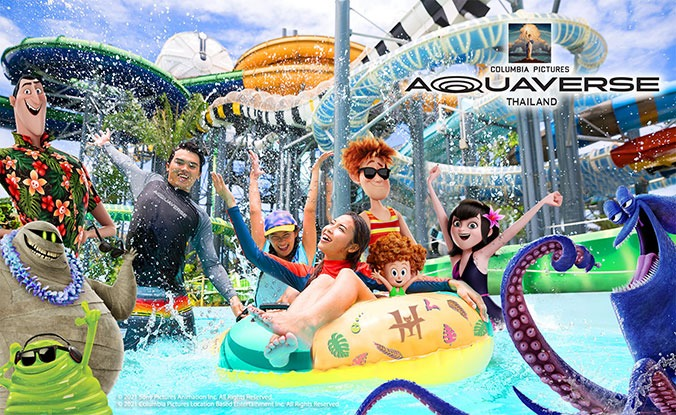 Columbia Pictures' Aquaverse Theme Park Opening In Thailand In October 2021
